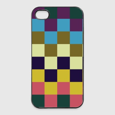 Color Squares 1 - iPhone 4/4s Hard Case