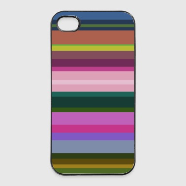 Stripes 2 - iPhone 4/4s Hard Case