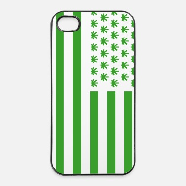 Skateboard Weedmerika - Coque rigide iPhone 4/4s