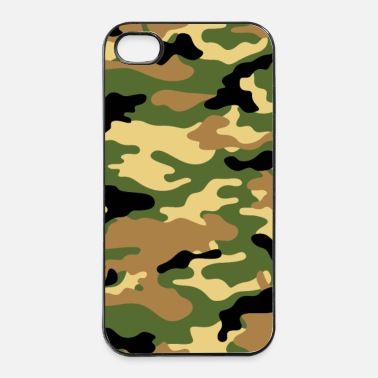 Military Camouflage (Green) - iPhone 4 & 4s Case
