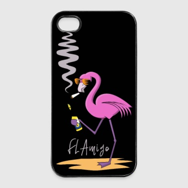 Flamingo_Mexiko-01 Kopie.png - iPhone 4/4s kovakotelo