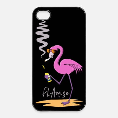 Flamingo_Mexiko-01 Kopie.png - iPhone 4/4s Hard Case