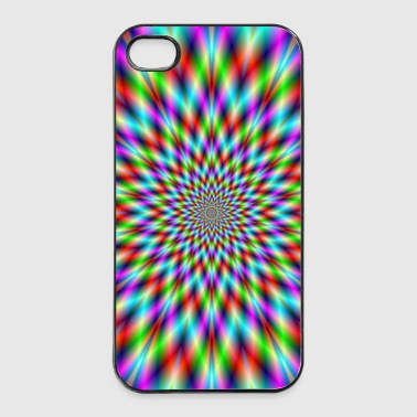 Neon Star Exploding - iPhone 4/4s Hard Case