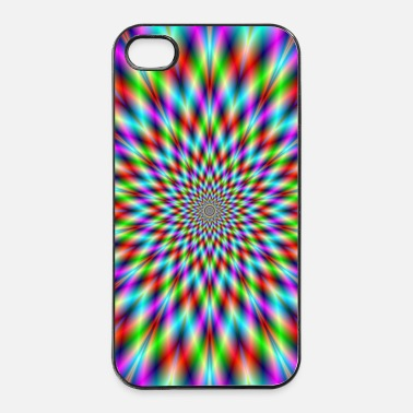 Neon Neon Star Exploding - iPhone 4 & 4s Case