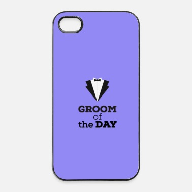 Valentines Day Groom of the day - case - iPhone 4/4s Hard Case