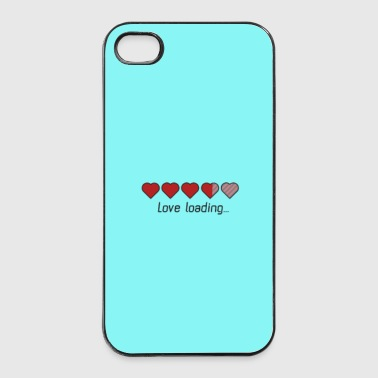 Download hjertet kærlighed - sag Mobil- & tablet-covers - iPhone 4/4s Hard Case