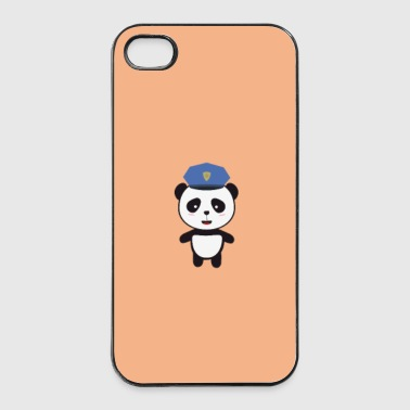 Panda-politimand - sag Mobil- & tablet-covers - iPhone 4/4s Hard Case