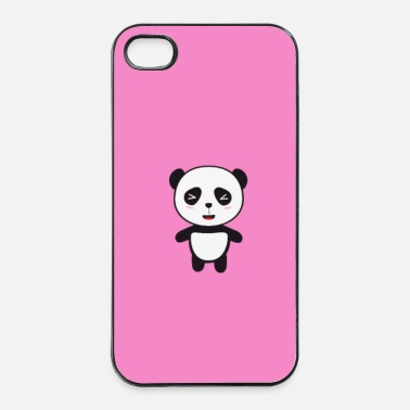 Mammifero Kawaii Panda bear - caso - Custodia rigida per iPhone 4/4s