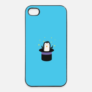 Cirque Pingouin Assistant - cas - Coque rigide iPhone 4/4s