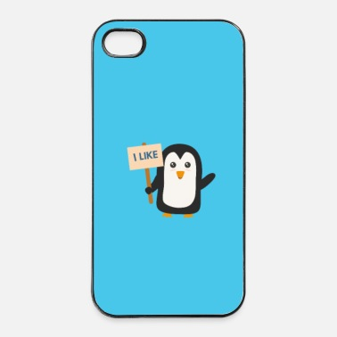 Outdoor Pinguin like - Case - iPhone 4/4s kovakotelo