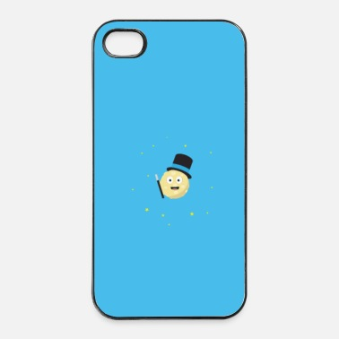Man Magische maan - zaak - iPhone 4/4s hard case