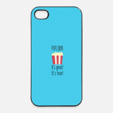 Pasto Popcorn! its great - Case - Custodia rigida per iPhone 4/4s