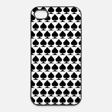Carte Spades custodia - Custodia rigida per iPhone 4/4s