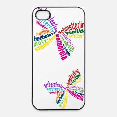Insecte Educaludo: Papillon/Butterfly - Coque rigide iPhone 4/4s