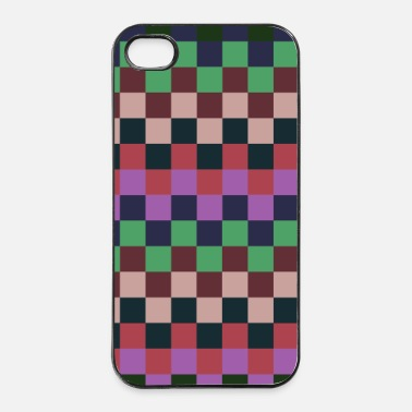 Collections Fine Squares 2 - iPhone 4/4s Hard Case