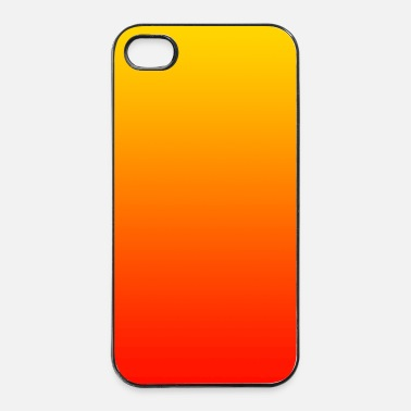 Gift kleur achtergrond patroon oranje rood gift phone  - iPhone 4/4s hard case