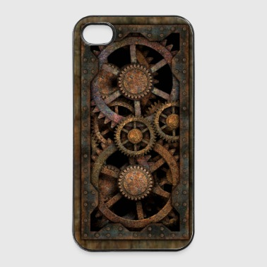 Infernal Steampunk Gears iPhone 4S / 4 hard case - iPhone 4/4s hard case