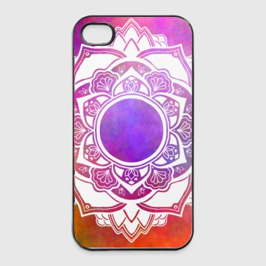 Mandala No. 4 Rainbow II - iPhone 4/4s Hard Case
