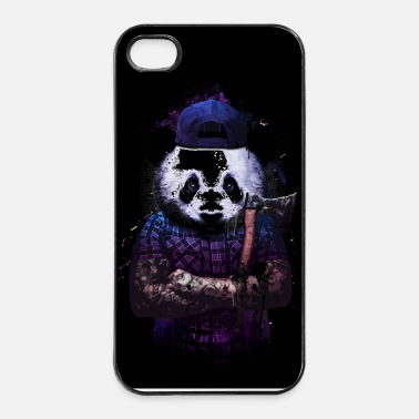 Tatoo woods panda - Coque rigide iPhone 4/4s
