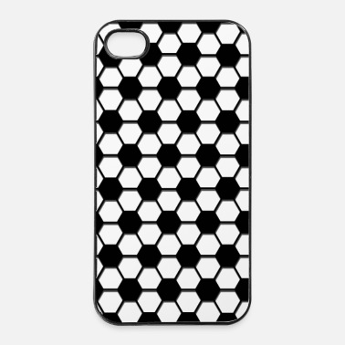Winnaar voetbal patroon sport cadeau winnaar phone pad - iPhone 4/4s hard case