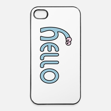 Ciao hello - Custodia rigida per iPhone 4/4s