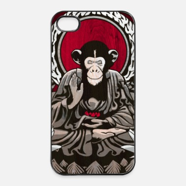 Zen zen monkey - iPhone 4/4s hard case