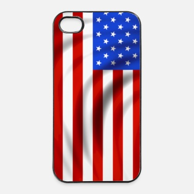 United usa flag - Coque rigide iPhone 4/4s