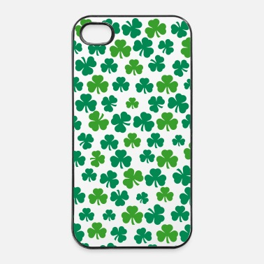 Shamrock trèfles - Coque rigide iPhone 4/4s