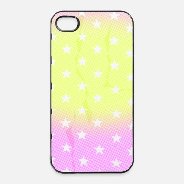 Mobil Mobile Phone Pattern - Glow - iPhone 4 & 4s Hülle