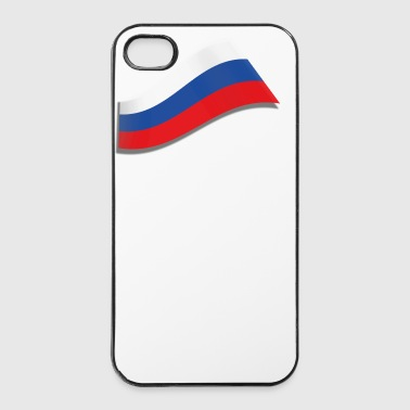 RUSSISCHE FLAGGE - iPhone 4/4s Hard Case