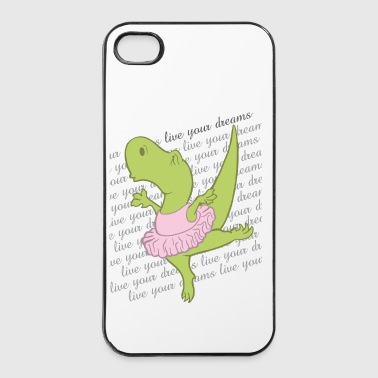 Dino Ballerina - iPhone 4/4s Hard Case