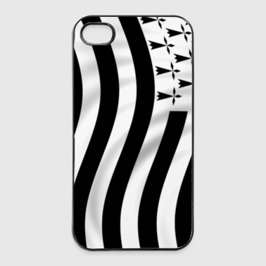 Drapeau Bretagne - Coque rigide iPhone 4/4s