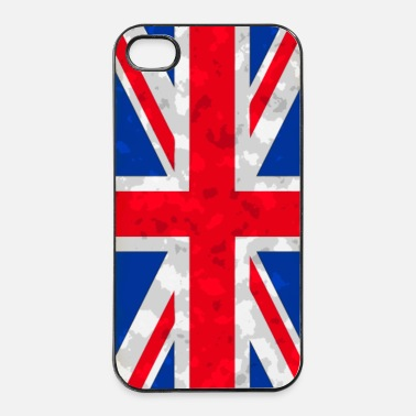 United union jack 4 - Coque rigide iPhone 4/4s