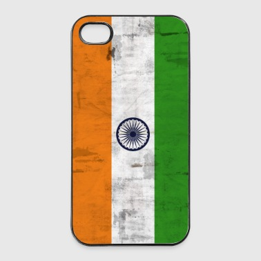 Bandiera India - Custodia rigida per iPhone 4/4s