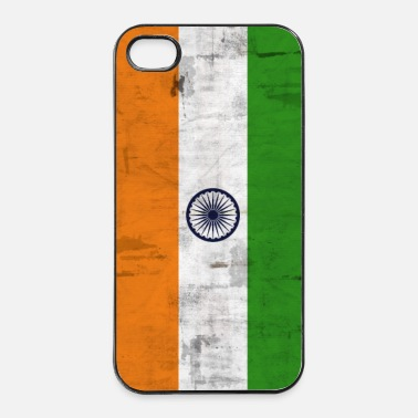 Vintage Bandera de India - Carcasa iPhone 4/4s