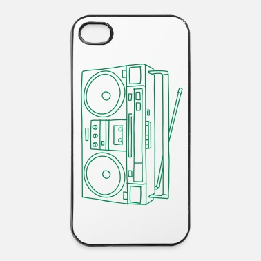 Audio Boombox - Coque rigide iPhone 4/4s