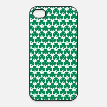 Shamrock trèfles irlandais - Coque rigide iPhone 4/4s
