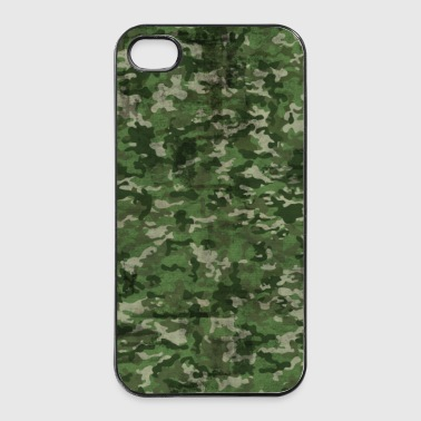 Coque camouflage verte - Coque rigide iPhone 4/4s