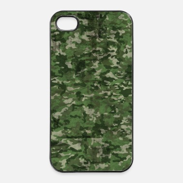 Militaire camouflage - Coque rigide iPhone 4/4s