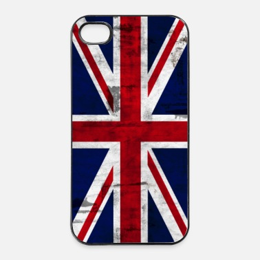 Angleterre Union Jack - Coque rigide iPhone 4/4s
