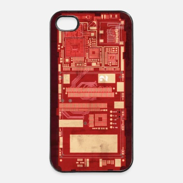Halloween Circuit - iPhone 4 & 4s Case