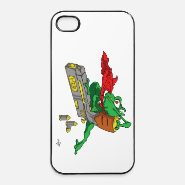Oui StupiDestFrog GrosFlingue - Coque rigide iPhone 4/4s