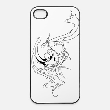Tempête Bird Storm - Coque rigide iPhone 4/4s