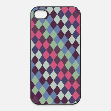 Rautenmuster 2 - iPhone 4/4s Hard Case