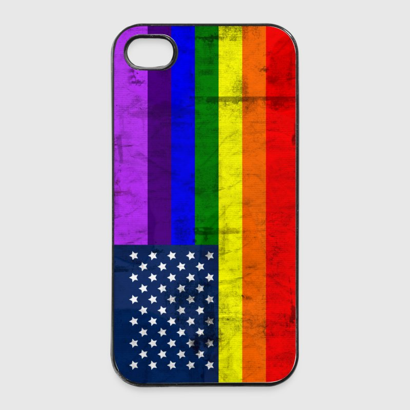 Gay Pride Fahne - iPhone 4/4s Hard Case