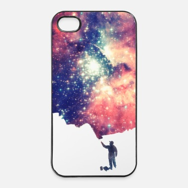 Handy  Painting the universe - Handycase - iPhone 4/4s Hard Case