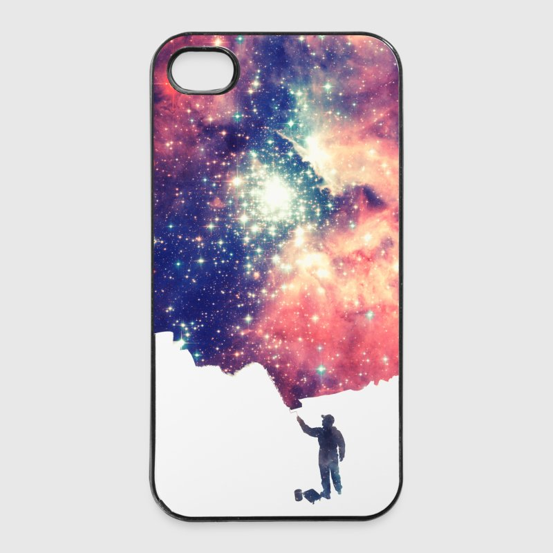 Painting the universe  - iPhone 4/4s hard case