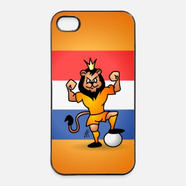 Holland Oranje Leeuw - iPhone 4/4s hard case