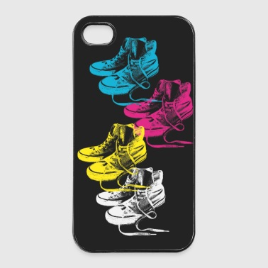 Bunte Sneackers - iPhone 4/4s Hard Case