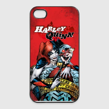 Suicide Squad Harley Quinn and Joker - iPhone 4/4s Hard Case